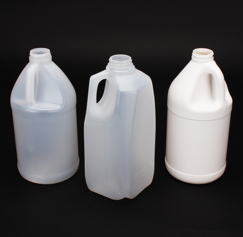 12 Plastic half gallon jugs #214