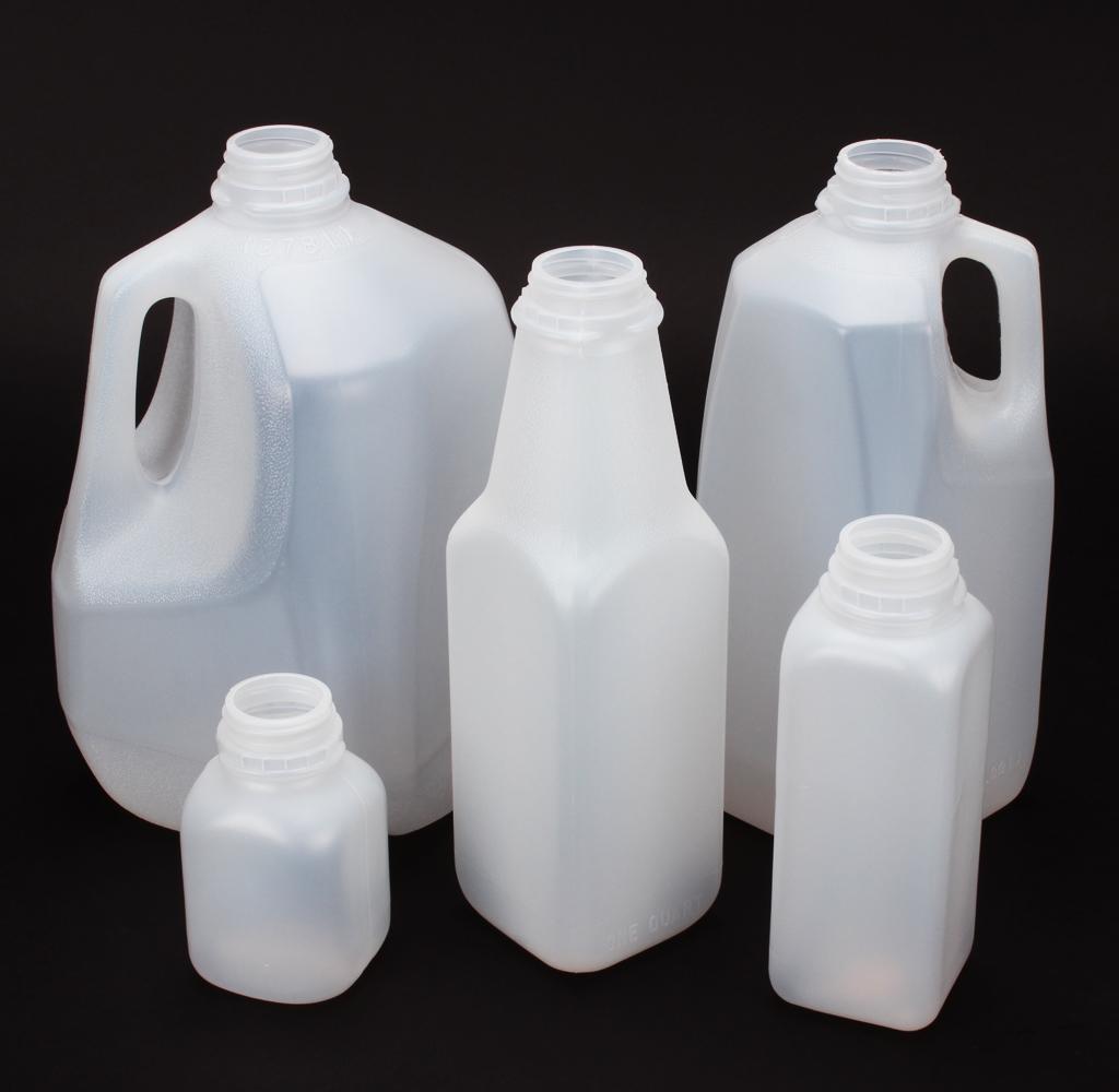 14 Plastic Juice Squares