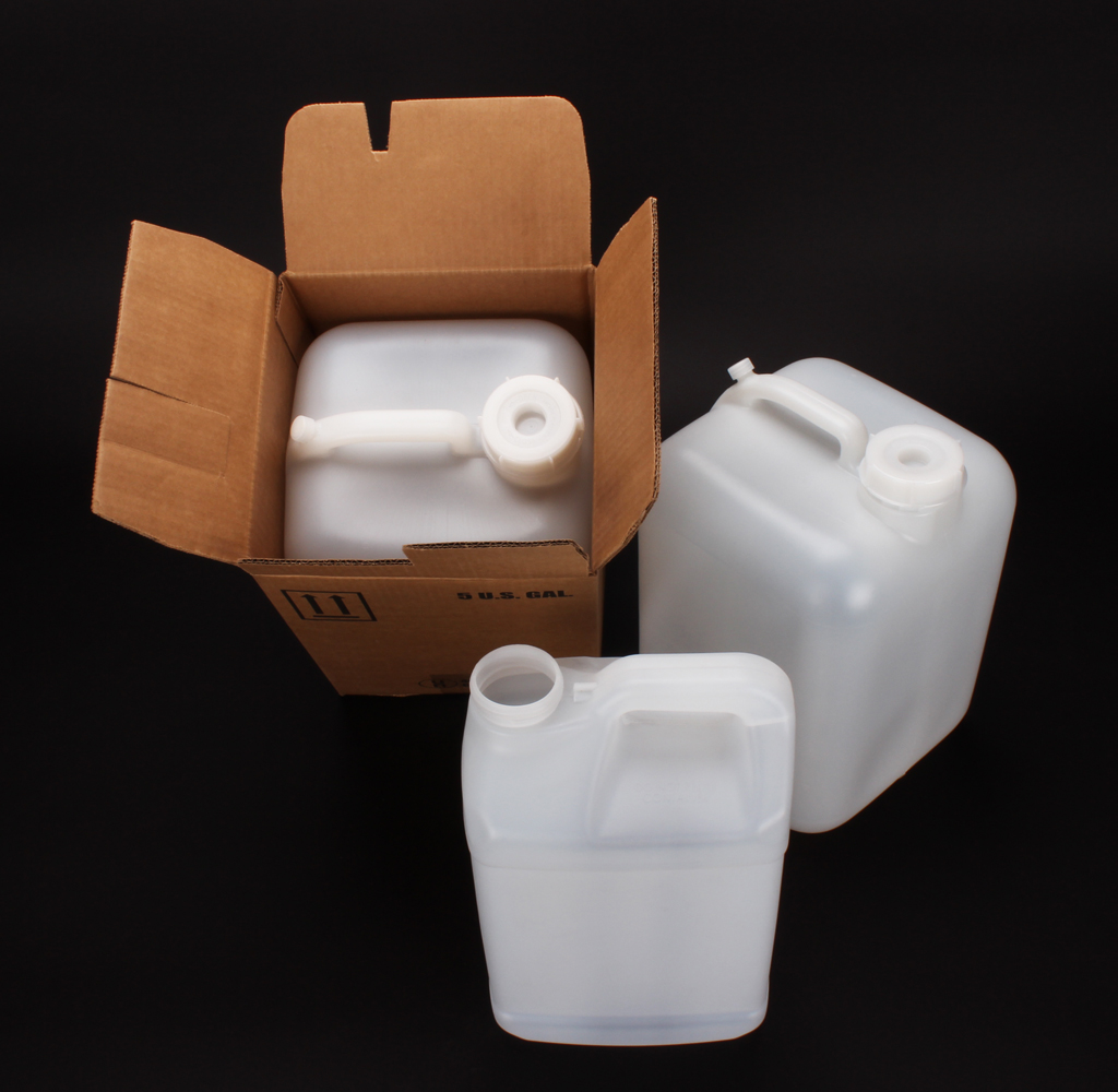 2 Hed Pak #223 2 and a Half Gallon and 5 Gallon with Carton