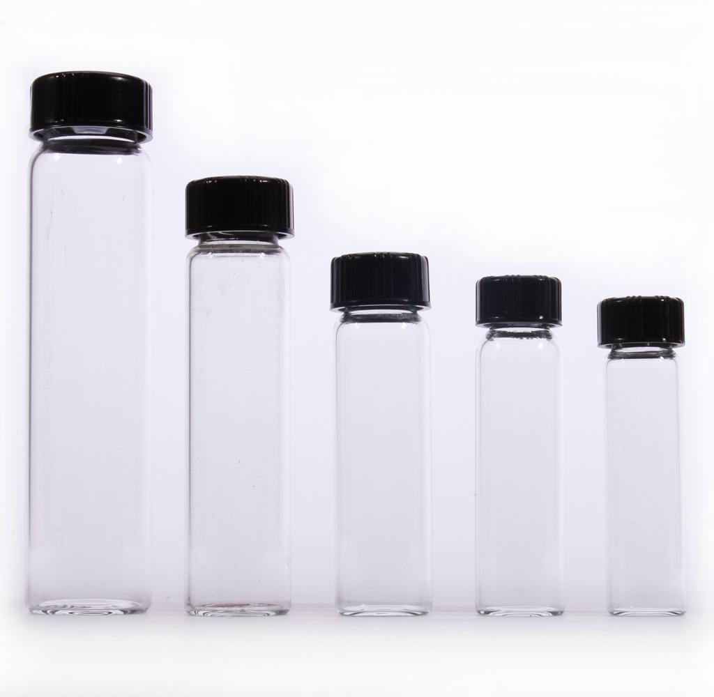 8 Glass Vials